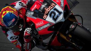 SBK: Rinaldi fa brillare la Ducati V4 a Misano, Rea a mezzo secondo