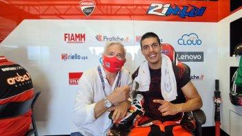 "SBK: Tardozzi: ""Eight bikes in the MotoGP won't slow Ducati down in the Superbike"""