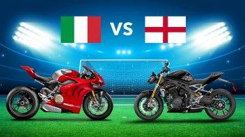 Moto - News: Euro 2020, Italia vs Inghilterra: in finale giocano le moto