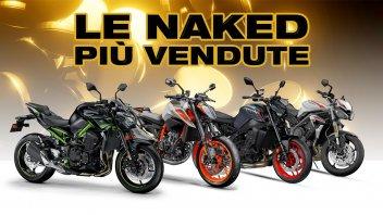 Moto - News: Le 10 naked più vendute in Italia nel primo semestre 2021