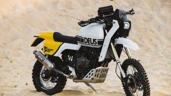 Moto - News: Yamaha Ténéré 700 by Deus: enduro moderna in chiave vintage