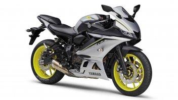 Moto - News: Yamaha R15 2022: la sorellina sportiva della R7 - Video spia