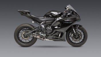 Moto - News: Yamaha R7, che sound con lo scarico Yoshimura R-77