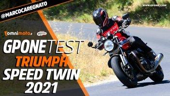 Moto - Test: TEST Triumph Speed Twin 2021: moto da aperitivo a chi?