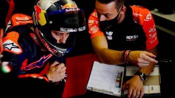 MotoGP: Dovizioso e Aprilia non si fermano: oggi e domani test ad Aragon!