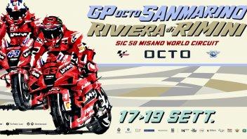 MotoGP: Misano vuole aprire le porte a 23.000 spettatori: ecco il poster