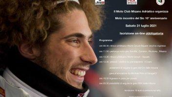 MotoGP: Moto incontro del Sic58 10°anniversario sabato 31 luglio 2021 a Misano