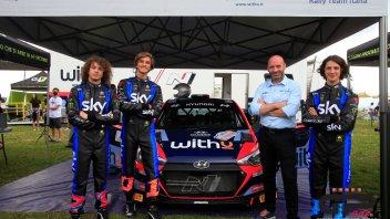 MotoGP: Riders meet Rally2: WithU mette su quattro ruote la VR46 Academy