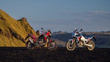 Moto - News: Honda Africa Twin, novità tecniche, funzionali ed estetiche per il 2022