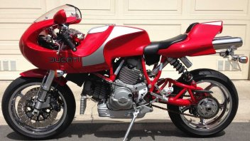 Moto - News: Una rara Ducati MH900 Evoluzione cerca un nuovo proprietario