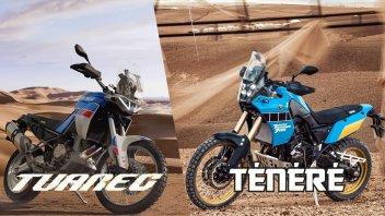 Moto - News: Aprilia Tuareg 660: sfida aperta a Yamaha Ténéré 700, ma non solo