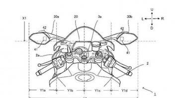 Moto - News: Yamaha pensa ai radar e ai display sugli specchietti