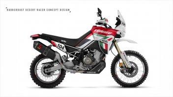 Moto - News: Aprilia Tuareg 660, si veste tricolore e diventa ancora più rally