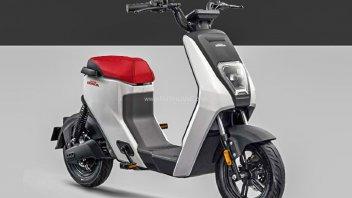 Moto - Scooter: Honda U-be, l'e-scooter monoposto che costa 400 euro