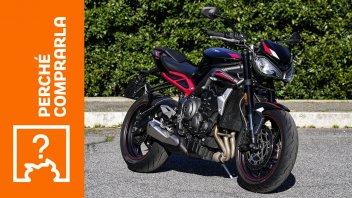 Moto - Test: Triumph Street Triple R 2021   Perché comprarla... E perché no
