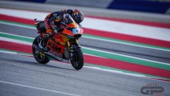 Moto2: Red Bull Ring: Gardner piazza la zampata in FP3, Bezzecchi cade ma è 2°