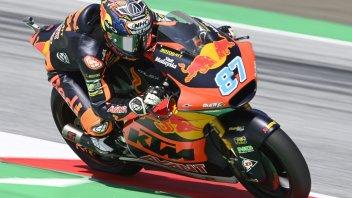 Moto2: Red Bull KTM Ajo da record nella FP3, Gardner precede Fernandez