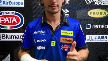 Moto3: Frattura alla mano per Niccolò Antonelli, non correrà il GP di Stiria