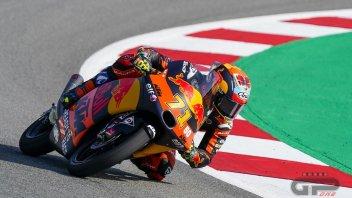Moto3: FP3 - Sasaki dalle stalle alle stelle, cade e poi fa il miglior tempo
