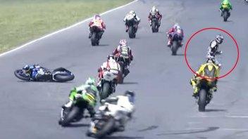 MotoAmerica: Gagne crashes but wins 10th consecutive MotoAmerica race at Brainerd