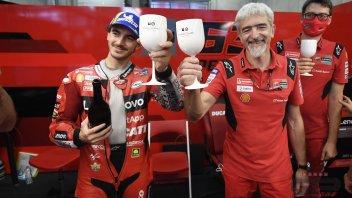 """MotoGP: Bagnaia: """"Manca sempre qualcosa per la vittoria ma non ho rimpianti"""""""