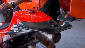 MotoGP: KTM's duckbill tail: rear wing