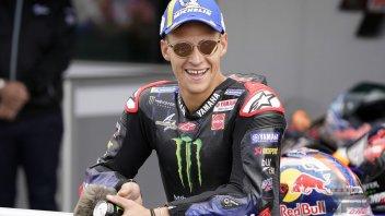 """MotoGP: Quartararo: """"I struggled with the soft, I won't touch it anymore"""""""