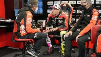 """MotoGP: A.Espargarò: """"Ho seguito Marquez migliaia di volte, oggi è toccato a lui"""""""