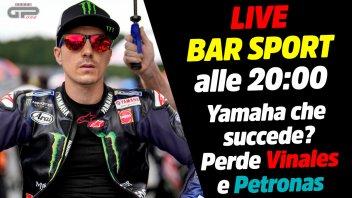 MotoGP: LIVE Bar Sport alle 20:00 - Yamaha che succede? Perde Vinales e Petronas