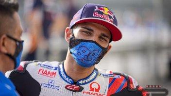 """MotoGP: Jorge Martin: """"Inizio a a sentire la pressione delle aspettative"""""""