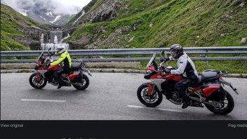 MotoGP: Tardozzi e Guidotti verso il Red Bull Ring sulla Ducati Multistrada V4