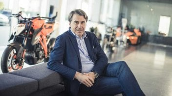 """MotoGP: Stefan Pierer, KTM: """"vogliamo raggiungere lo stesso risultato di Ducati"""""""