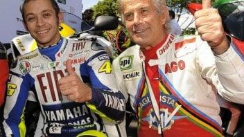 """MotoGP: Agostini: """"Rossi, an emotionless retirement, I cried for three days"""""""