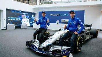 MotoGP: FOTO - Mir e Rins: un giorno da piloti di Formula1 alla Williams