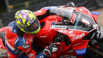 SBK: The curse of the #1 hits Josh Brookes in BSB, the #25 is back