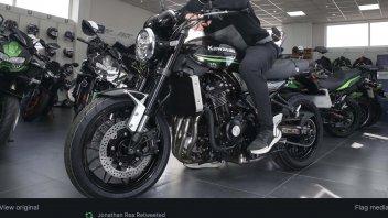 SBK: Johnny Rea, retro-bike: after the license, the first bike, Kawasaki Z900RS