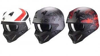 Moto - News: Scorpion Covert-X, novità grafiche per l'iconico casco jet streetfight