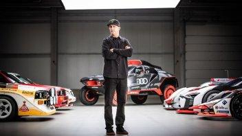 """Auto - News: Audi: Ken Block, presto """"maltratterà"""" un'elettrica dei Quattro Anelli"""