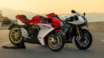Moto - News: Triumph Speed Triple 1200 RR vs MV Agusta Superveloce: il confronto