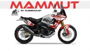 Moto - News: Ducati Scrambler Desert X Concept, ora il look è da vera dakariana