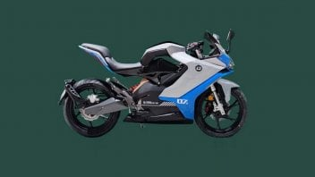 Moto - News: Benelli: una sportiva elettrica (dalla Cina) per battere gli e-scooter