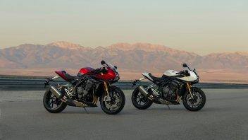 Moto - News: Triumph Speed Triple 1200 RR: hyper-naked con il vestito racing