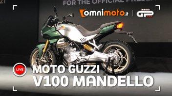 Moto - News: Ecco la Moto Guzzi V100 Mandello! La sport tourer del futuro