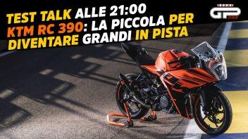 Moto - Test: LIVE Test Talk alle 21:00 – KTM RC 390: piccola grande sportiva