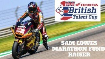 Moto2: Sam Lowes marathon fund raiser for Honda british talent cup!