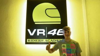 Moto3: Alberto Surra è il nuovo allievo di Valentino Rossi