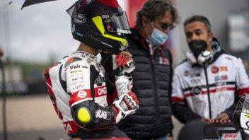 """Moto3: Simoncelli: """"quella con Suzuki è stata una lunga e bella storia"""""""