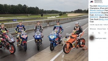 MotoAmerica: The magnificent five champion of MotoAmerica in one picture