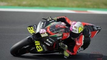 MotoGP: Aleix Espargaro e Aprilia si confermano nel 2° giorno di test a Misano