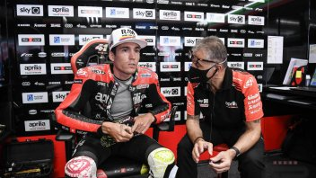"MotoGP: A.Espargarò: ""Ho seguito Vinales ed è già più veloce di me in alcuni punti"""